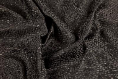 Tesserae silk fabric for sale at Roisin Cross Silks Dublin