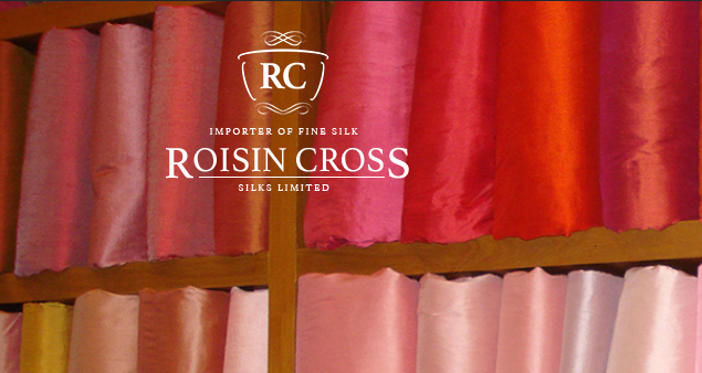 silk fabrics | dress making | wedding fabrics | Roisin Cross