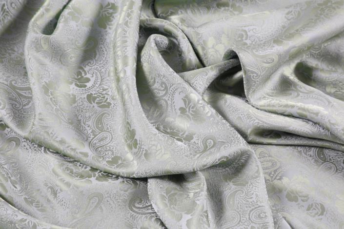 printed silk satin crepe fabric for sale at Roisin Cross Silks Dublin