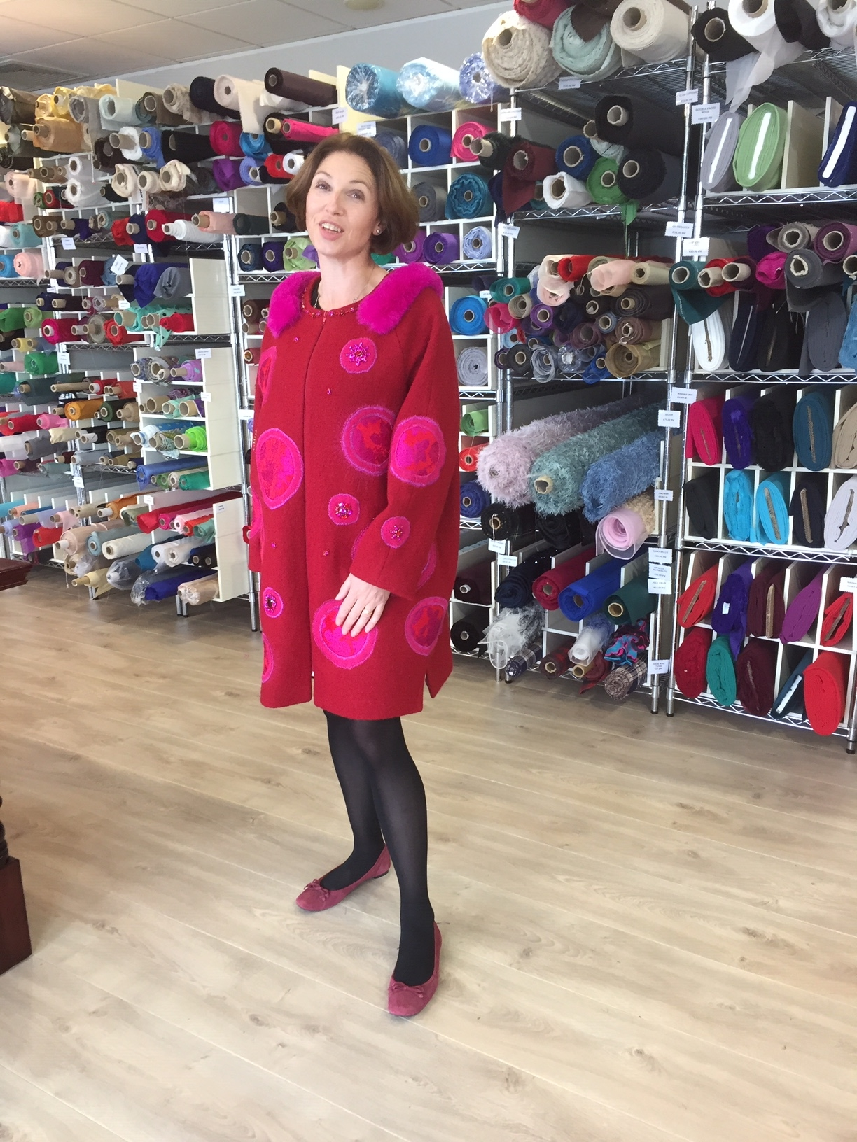 Winter Wool Three Quarter Length Coats