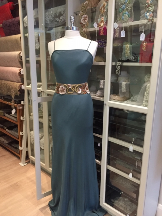 evening wear and debs dressmaking at Roisin Cross Silks Dublin