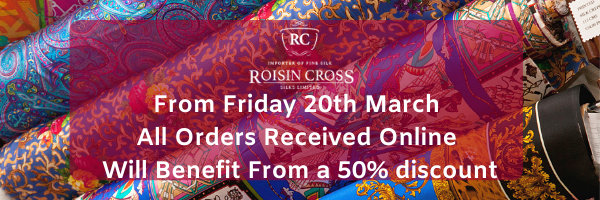 Roisin Cross Silks Dublin March 2020 online Discount