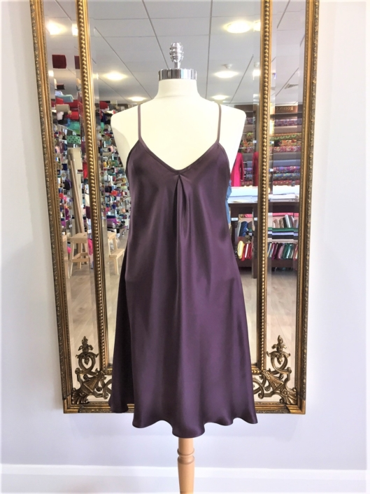 buy handmade silk night attire at Roisin Cross Silks Dublin