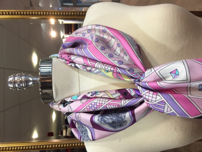 standard square printed scarves product code SS035