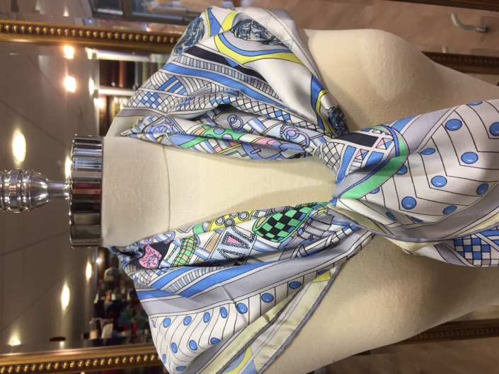 standard square printed scarves product code SS040