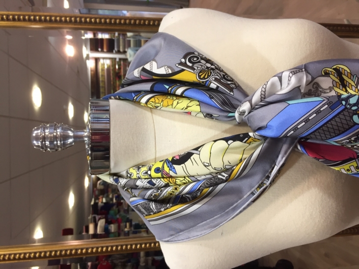 standard square printed scarves product code SS041