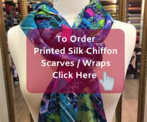 Order printed silk chiffon wraps online