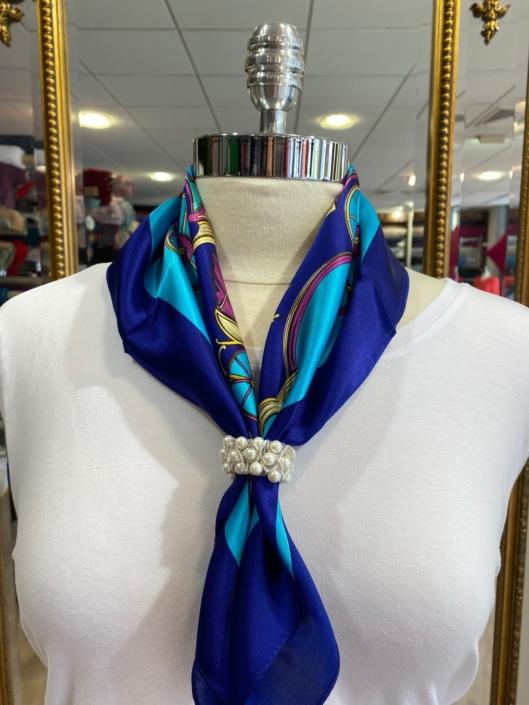 Roisin Cross Silks Dublin ladies silk neck scarf product code NT - 80