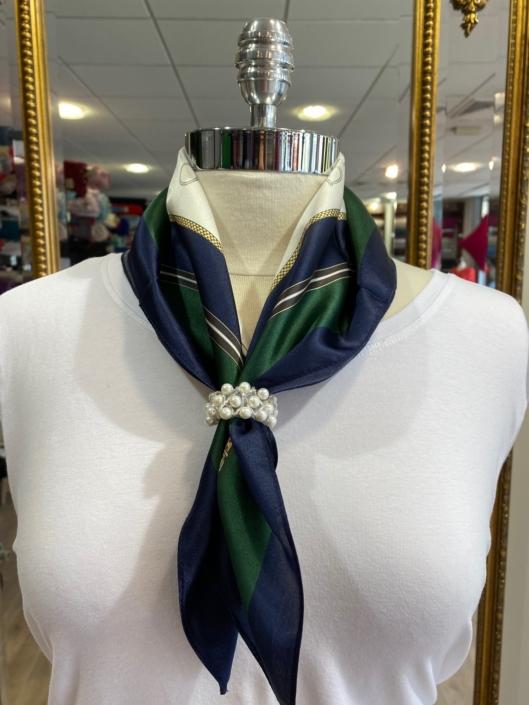 Roisin Cross Silks Dublin ladies silk neck scarf product code NT - 90