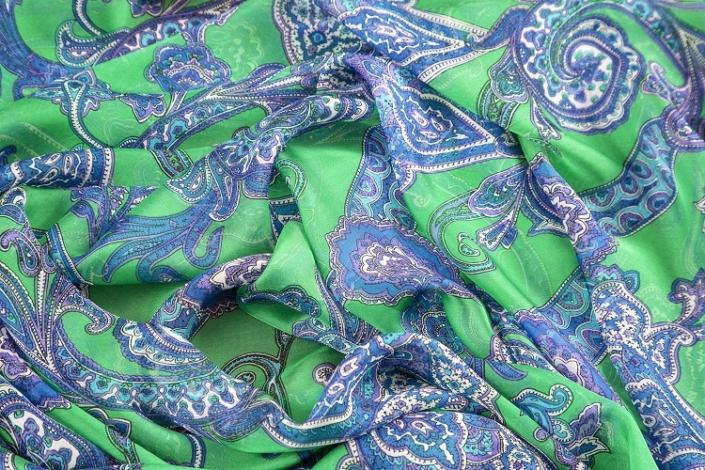 ladies printed silk chiffon wrap product name Juniper