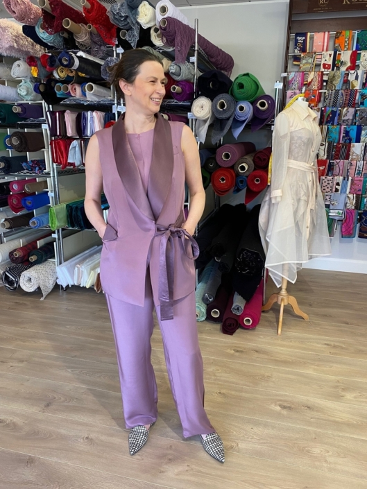 day wear and occasional wear dressmaking at Roisin Cross Silks Dublin