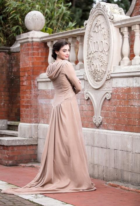 Mink Silk Velvet Coat Size 10-12 €350