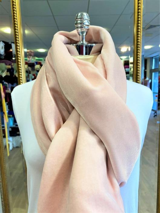 Roisin Cross Silks Dublin velvet and printed silk scarves product code SVP-37